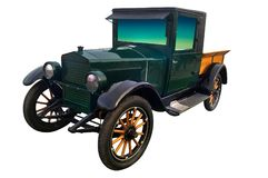 Старый автоматический автомобиль riksha Стоковая Фотография