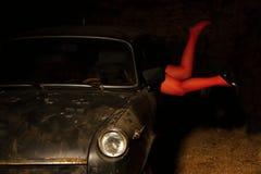Старый автомобиль Стоковая Фотография