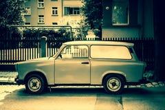 Старый автомобиль Trabant стоковое изображение