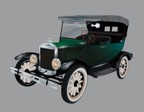 Старый автомобиль, вектор Стоковые Фото