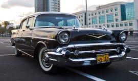 Старый автомобиль ретро Стоковое Фото