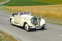 Старый автомобиль таймера стоковое изображение rf