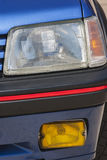 Старый автомобиль: традиционный рефлектор Стоковые Изображения RF