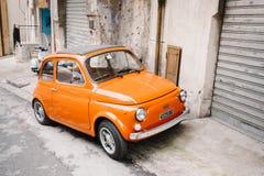 Старый автомобиль Фиат Стоковое фото RF
