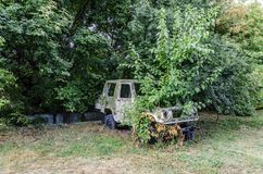 Старый автомобиль Стоковые Фотографии RF