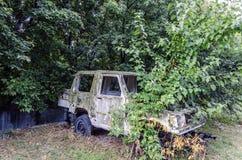 Старый автомобиль Стоковое Изображение RF