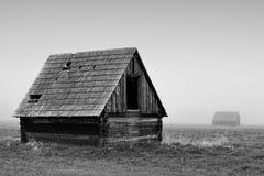 Старый амбар сена стоковое фото rf