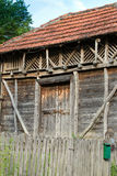 Старый амбар стоковая фотография