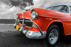 Старый американский автомобиль Стоковое фото RF