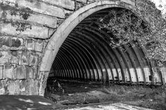 Старый ангар Стоковое Фото