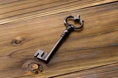 Старый античный ключ Стоковое фото RF