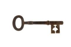 Старый античный ключ Стоковое Изображение RF