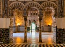 Старый арабский дворец стоковое изображение rf