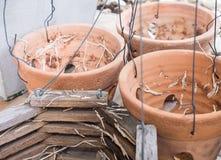 Старый бак агашка с проводом металла Стоковые Фото