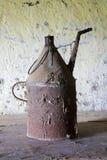 Старый бак для петролеума Стоковые Изображения