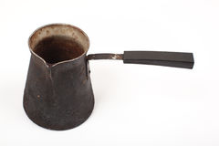 Старый бак кофе Стоковые Изображения RF