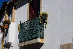 Старый балкон дома Стоковая Фотография RF