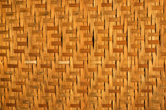 Старый бамбуковый поднос Стоковая Фотография RF