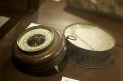 Старый барометр Стоковая Фотография RF