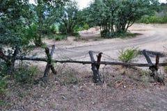Старый барьер Стоковая Фотография