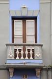 Старый балкон в Ла Laguna, Тенерифе, Испании Стоковое Фото