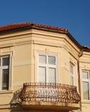 Старый балкон в Bitola, македонии Стоковые Изображения RF