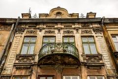 Старый балкон Стоковое Изображение RF