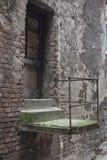Старый балкон Стоковая Фотография RF