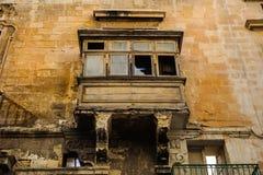 Старый балкон Стоковое Фото