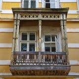 Старый балкон Стоковые Изображения