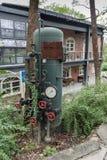 Старый боилер на стороне завода Стоковое Фото