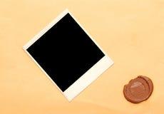 старый бумажный воск уплотнения Стоковая Фотография