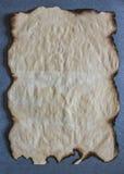 старый бумажный лист Стоковые Фотографии RF