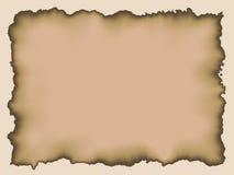старый бумажный пергамент Стоковое Изображение RF
