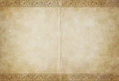 старый бумажный пергамент Стоковые Фотографии RF