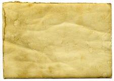 старый бумажный сбор винограда Стоковое Изображение RF
