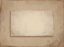 старый бумажный эскиз Стоковая Фотография