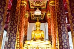Старый Будда над 500 летами Стоковое фото RF
