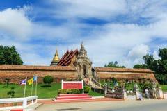 Старый буддийский висок & x22; Wat Phra то Lampang Luang& x22; Стоковая Фотография