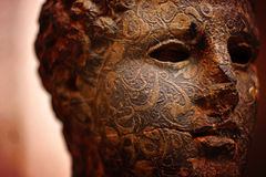 Старый бюст статуи Стоковые Фото