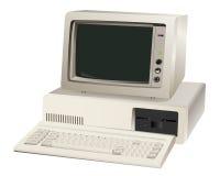 Старый блок компьютера Стоковые Изображения RF