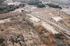 Старый Вавилон в Ираке от воздуха Стоковые Фотографии RF