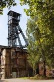 Старый вал угольной шахты Стоковые Фотографии RF