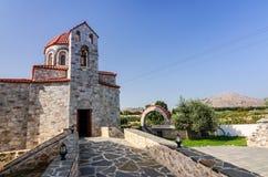 Старый введенный в моду греческий висок Стоковое Изображение