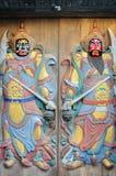 Старый двер-бог Стоковые Изображения RF