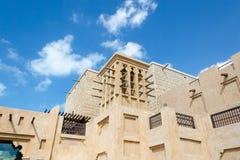 Старый ветер возвышается, аравийская архитектура, Дубай, ОАЭ Стоковые Изображения