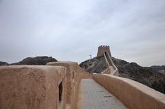 Старый Великая Китайская Стена Стоковые Фото