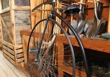 Старый велосипед времени Стоковые Фотографии RF