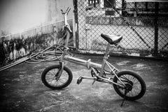 Старый велосипед складчатости Стоковое фото RF