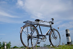 Старый велосипед, старый велосипед в Таиланде Стоковые Фото